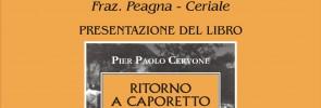 """Pier Paolo Cervone presenta """"Ritorno a Caporetto"""""""