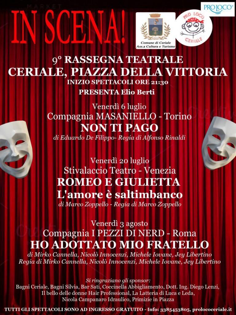 9° Rassegna teatrale @ Piazza della Vittoria | Ceriale | Liguria | Italia
