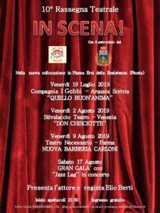 """10° RASSEGNA TEATRALE """"IN SCENA"""" - Compagnia I GOBBI  """"Quello buon'anima"""" @ Ceriale"""